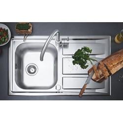 Комплект кухненски мивки със смесител